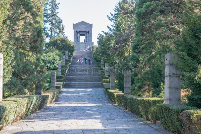 Monument till den okända hjälten fotografering för bildbyråer