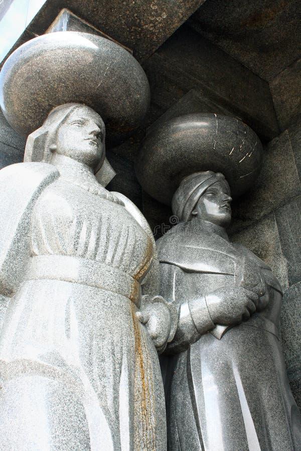 Monument till den okända soldaten från världskrig I på Avala, Belgr arkivbilder