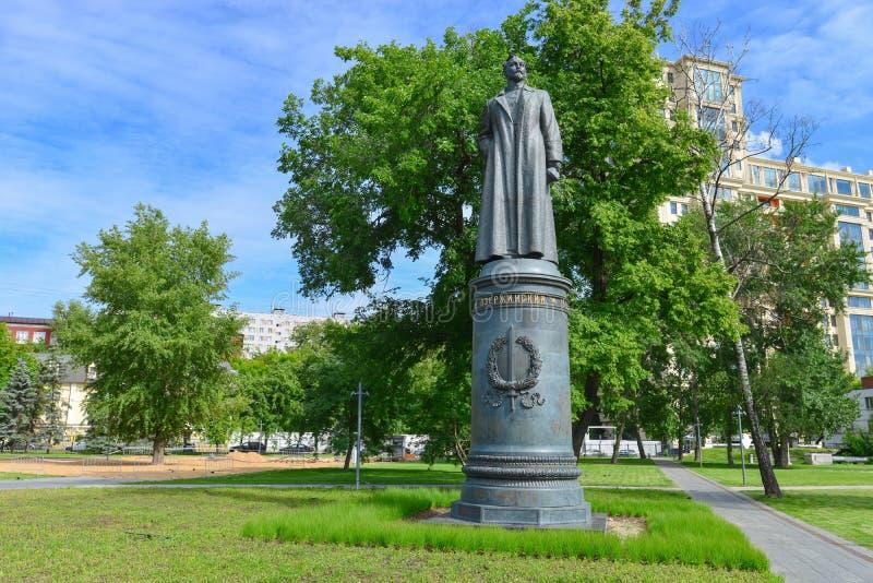 Monument till Felix Dzerzhinsky royaltyfri foto