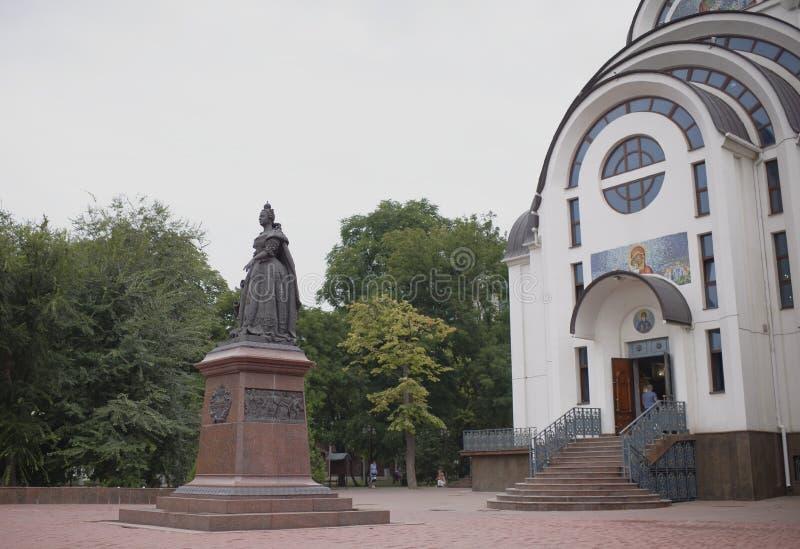 Monument till kejsarinnan Elizabeth arkivbilder