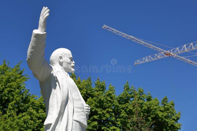 Monument till Lenin i Moskva, Ryssland royaltyfri foto