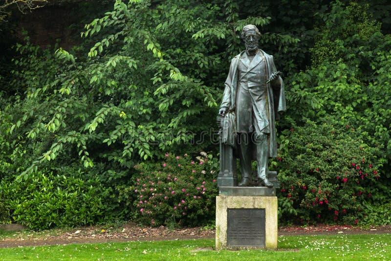 Monument till William Reginald Courtenay arkivbild