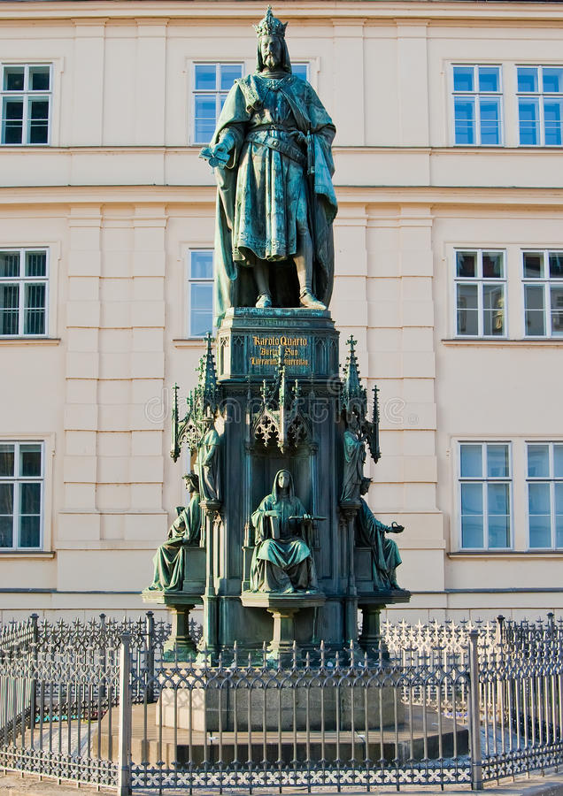 Download Monument to Charles IV stock photo. Image of majestic - 29285760