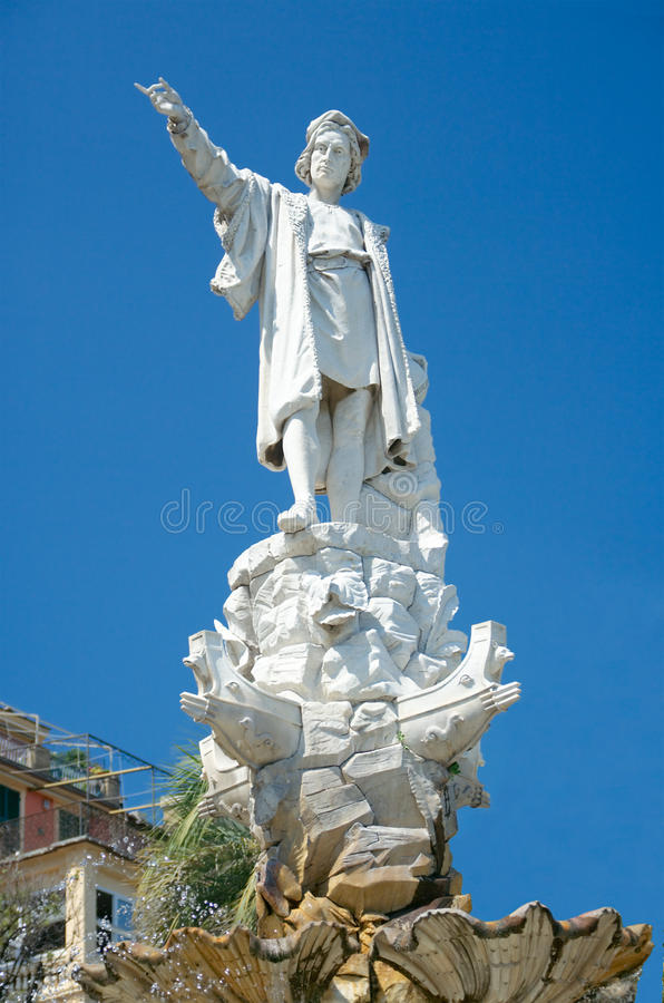 Free Monument To Christopher Columbus, Santa Margherita Royalty Free Stock Photography - 34605457