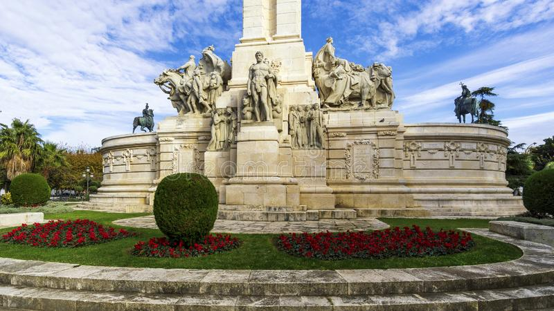 Monument to the Constitution of 1812 Cadiz Andalusia stock images