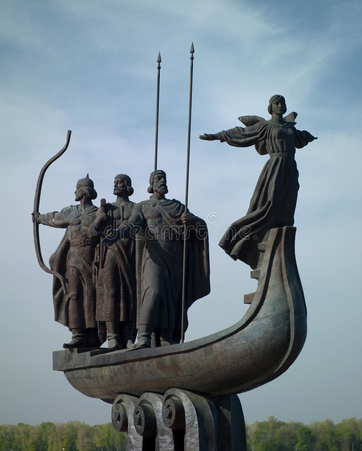 Download Monument To The Founders Of Kiev Stock Image - Image: 31305371