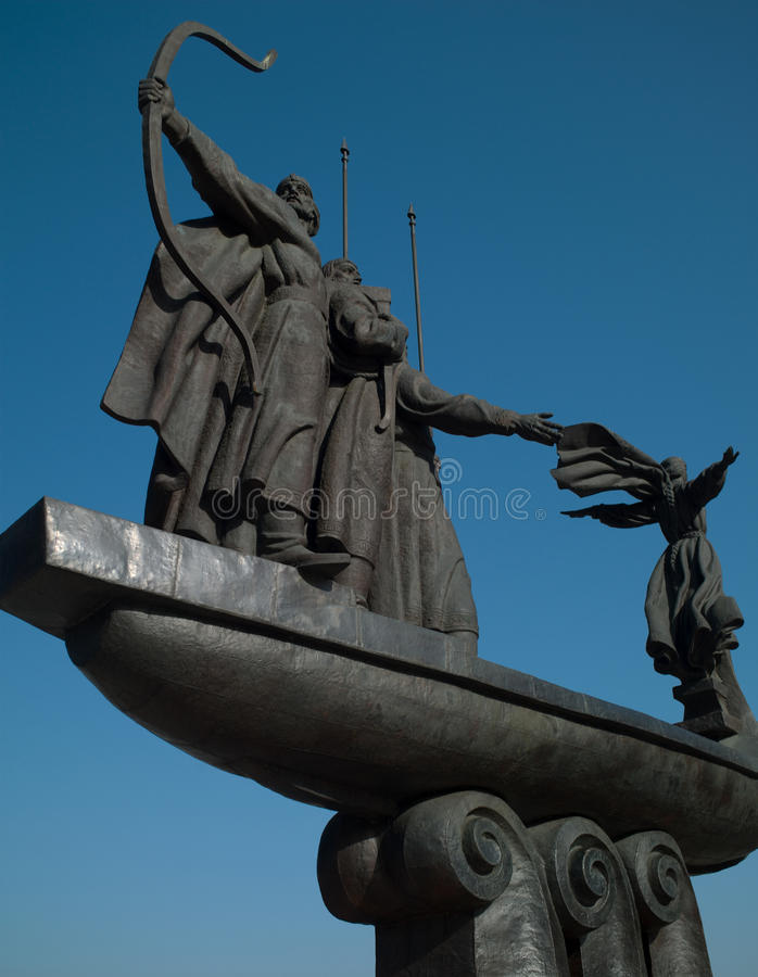 Download Monument To The Founders Of Kiev Stock Image - Image: 31305541