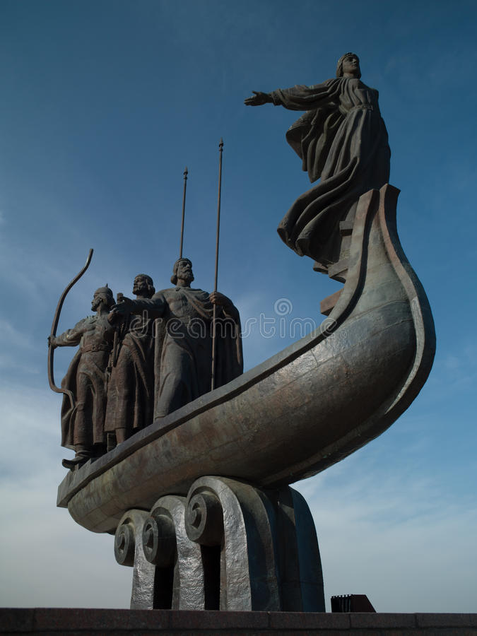 Download Monument To The Founders Of Kiev Stock Photos - Image: 31305613