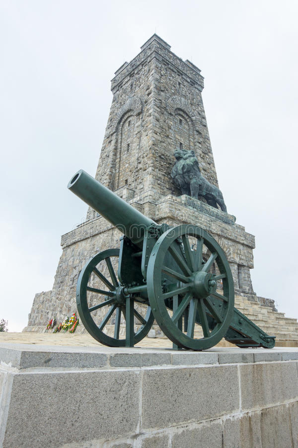 Monument to the Heroes of Shipka royalty free stock photos