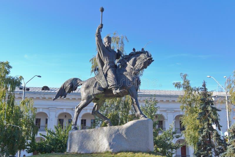 A monument to Hetman Sahaidachny
