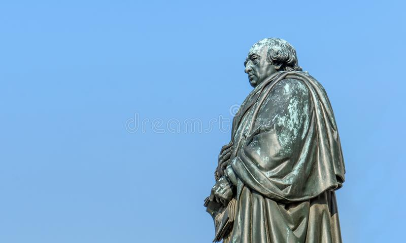 Monument to Johann Gottfried Herder stock image