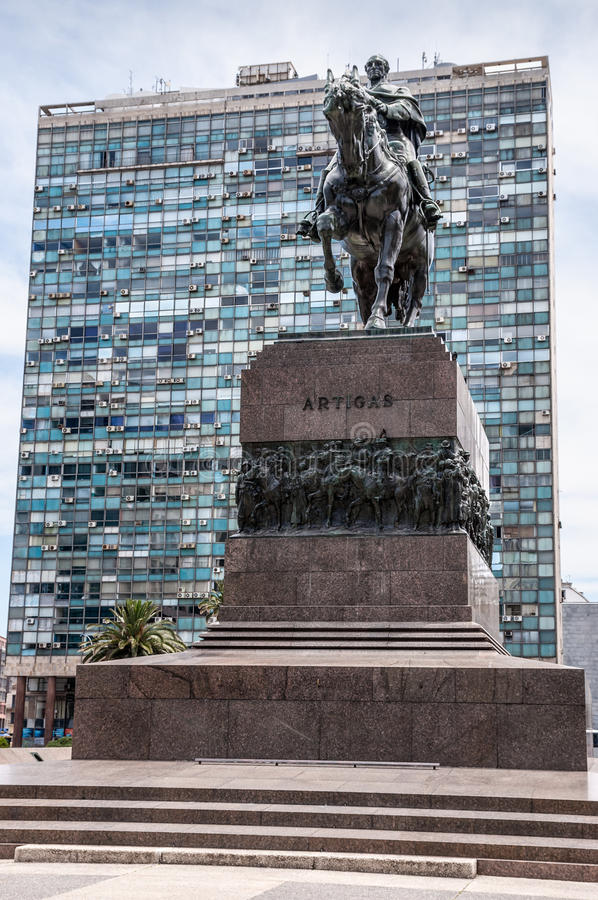 Download Montevideo, Uruguay - Monument To Artigas Stock Photo - Image of latin, montevideo: 29974320