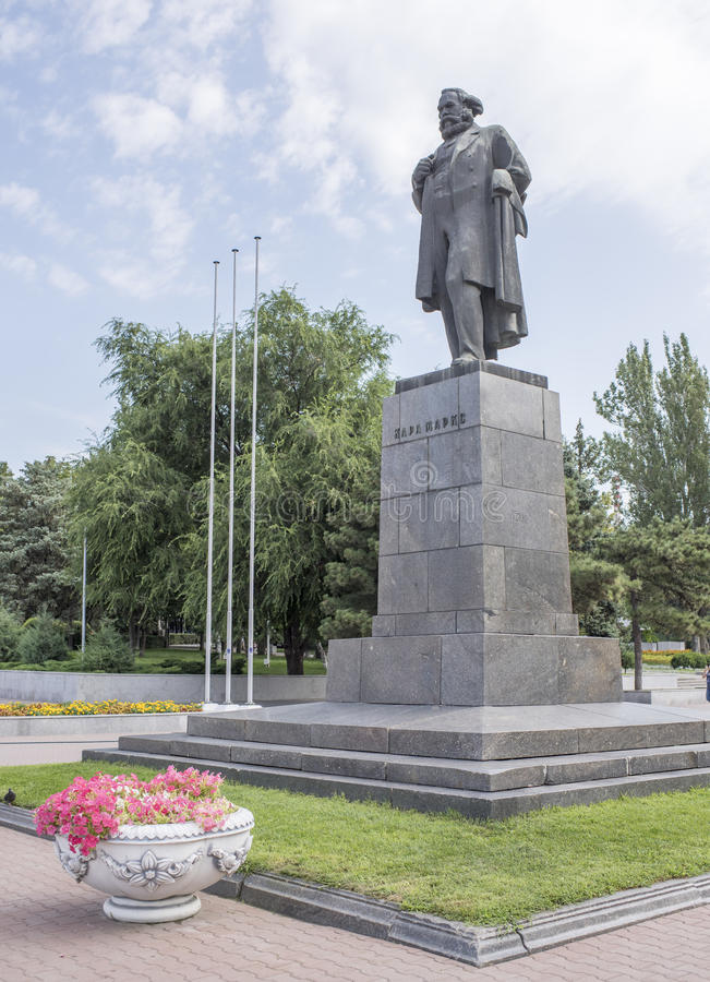 Monument to Karl Marx royalty free stock image