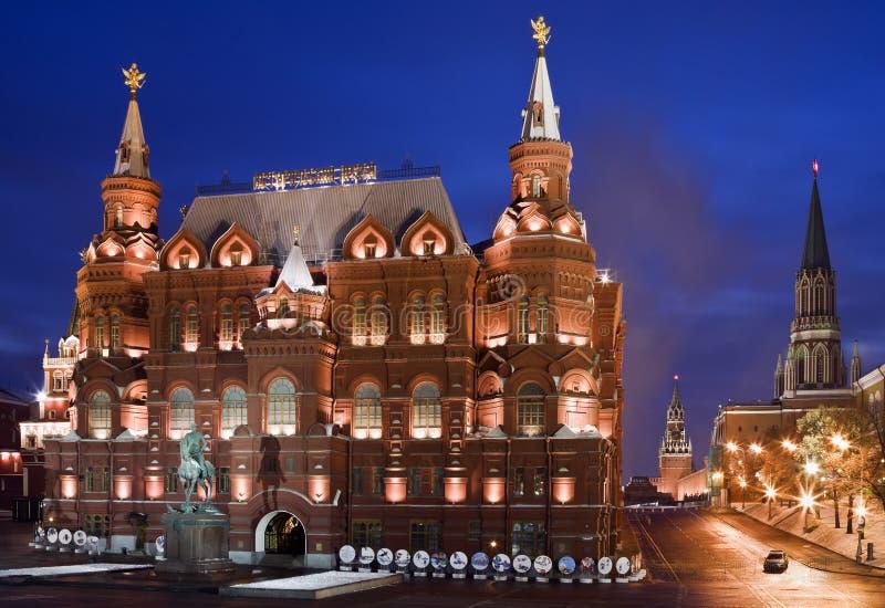 Monument to Marshal Zhukov royalty free stock photo