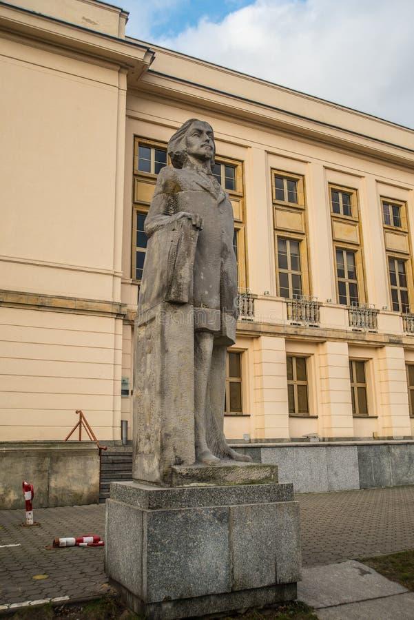Monument of Paderewski in Bydgoszcz, Poland. Monument to memory of Polish composer, patriot and politician Ignacy Jan Paderewski in the town of Bydgoszcz royalty free stock photo
