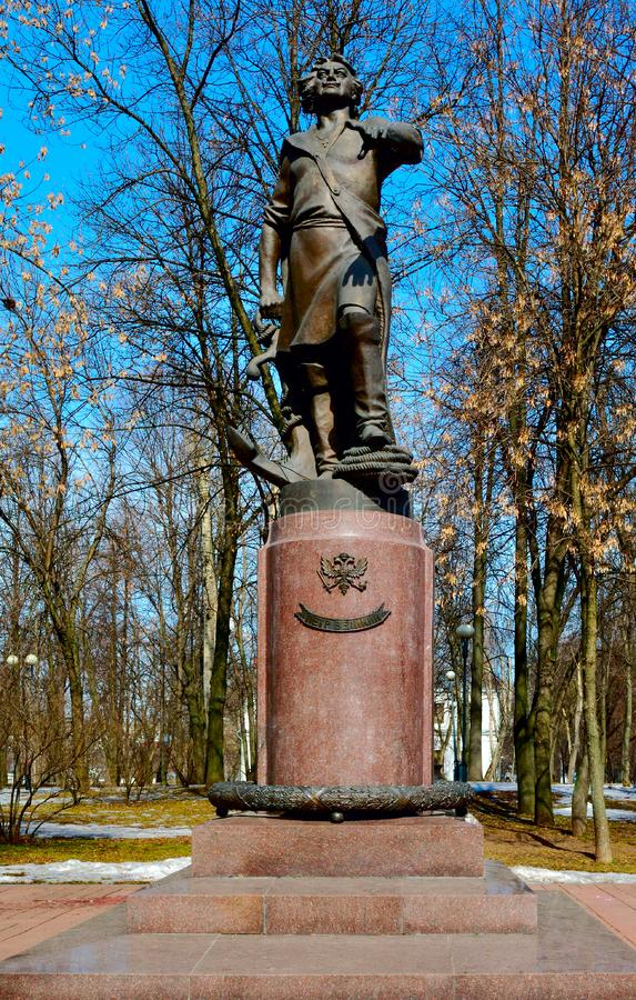 Download Monument To Peter The Great In Izmailovo Stock Photo - Image of statue, czar: 9344090
