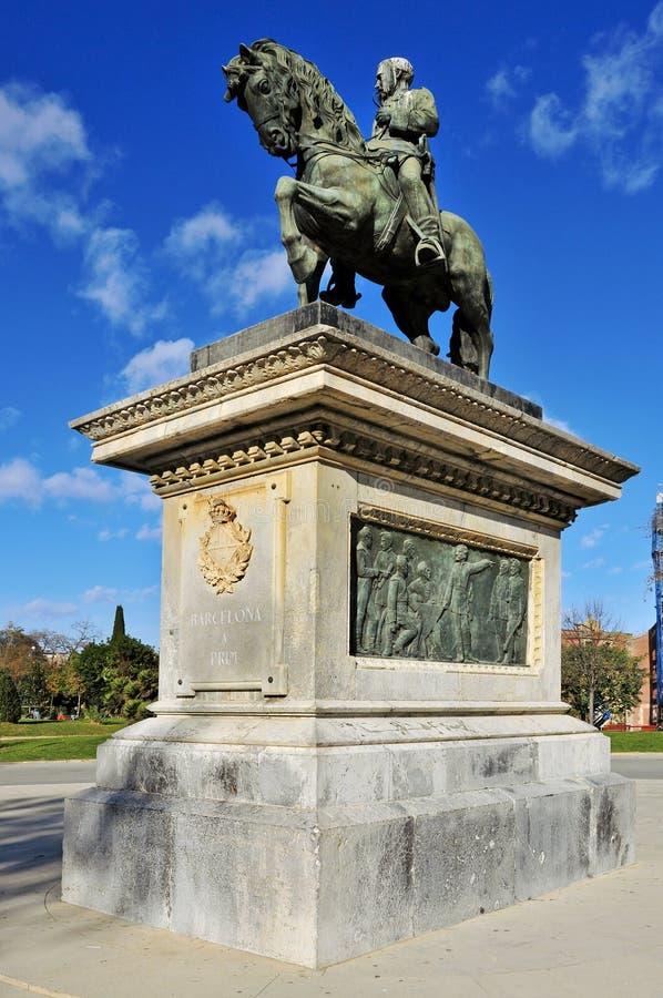 Monument To Prim In Parc De La Ciutadella Editorial Image