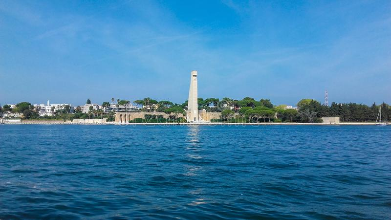 Monument To The Sailor, Brindisi stock photos