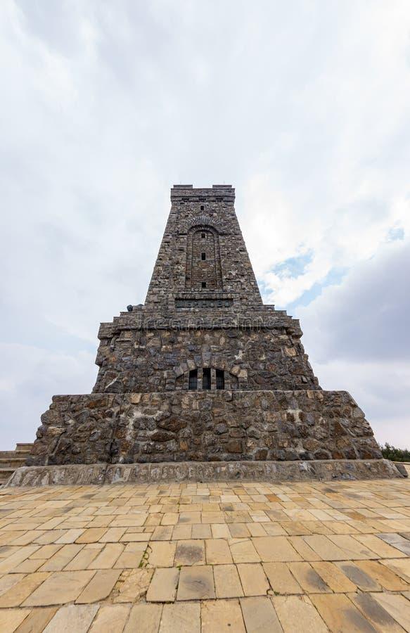 Monument to the Shipka Heroes, Bulgaria royalty free stock photo