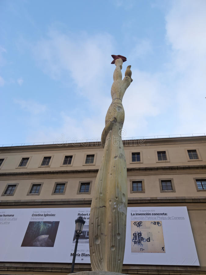 Free Monument To Spanish People Stock Images - 30221484