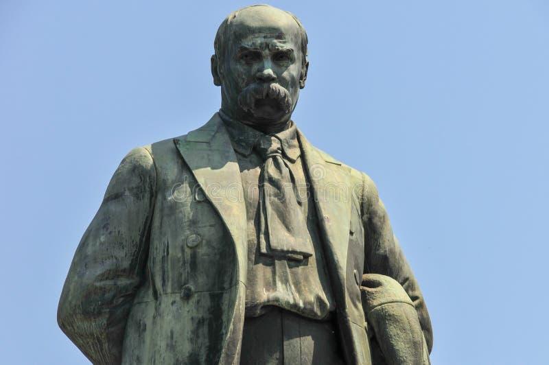 Monument to Taras Shevchenko - Kiev, Ukraine. Monument to Taras Shevchenko, the famous Ukrainian poet in Kiev, Ukraine stock image