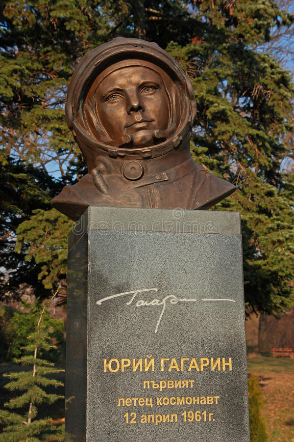 Download Monument to Yuri Gagarin stock image. Image of kosmonaut - 22832109