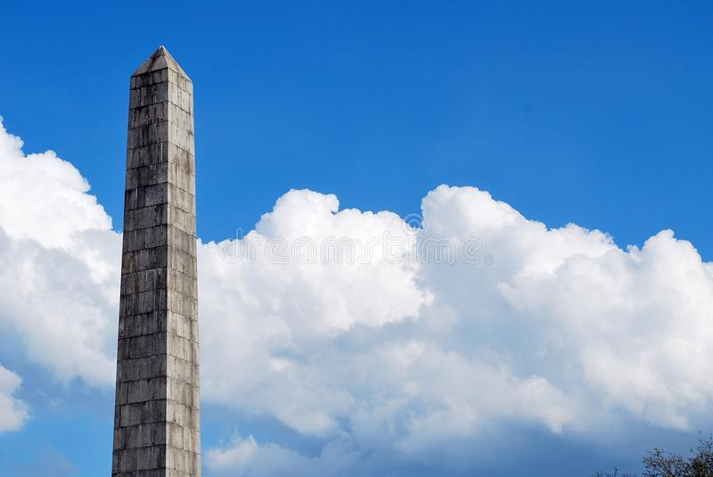 Monument. A monument is a type of structure that was explicitly created to commemorate a person or important event, or which has become important to a social royalty free stock photos