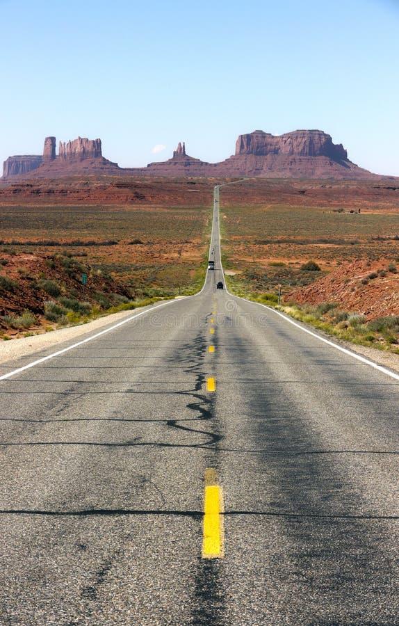 Monument Valley, σύνορα Αριζόνα-Γιούτα, ΗΠΑ στοκ εικόνες