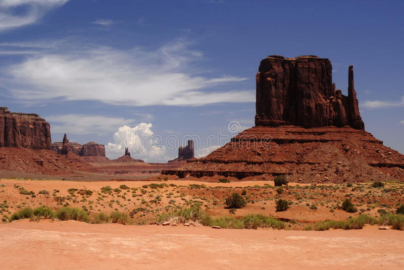Monument Valley 10 stock images