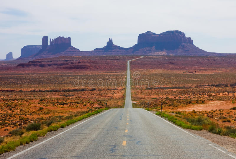 Download Monument Valley stock photo. Image of route, southwest - 25385682
