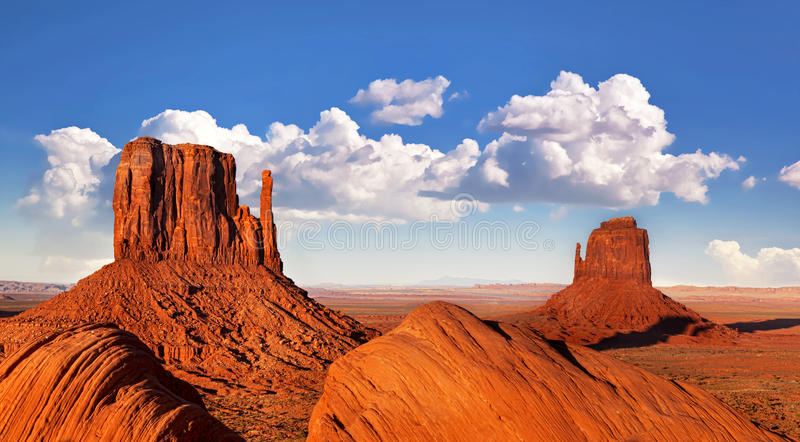 Download Monument Valley stock photo. Image of park, famous, land - 26479800