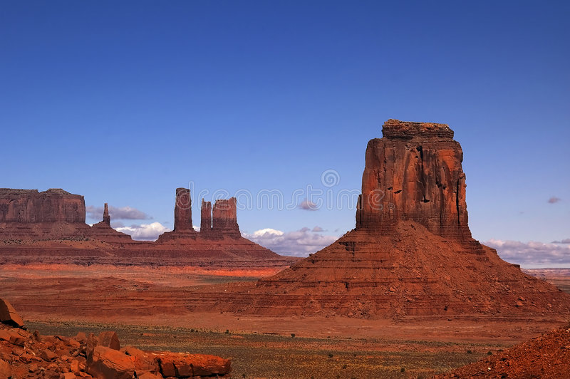 Monument Valley 3 stock photos