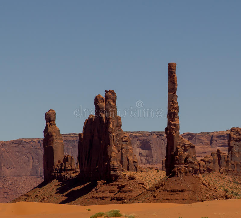 Free Monument Valley 4 Royalty Free Stock Images - 36471859