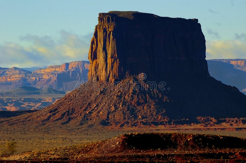 Monument Valley 5 stock image