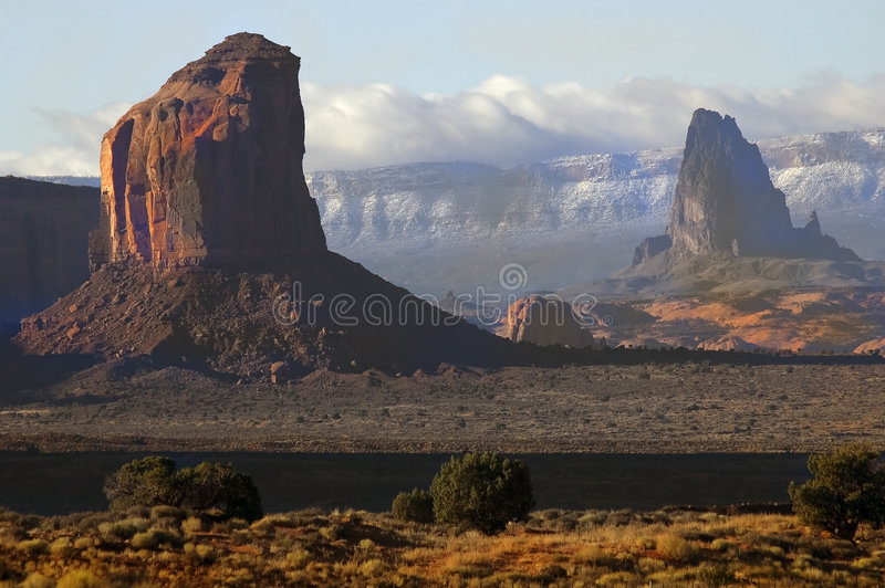 Download Monument Valley 7 stock image. Image of peaks, mountain - 163049