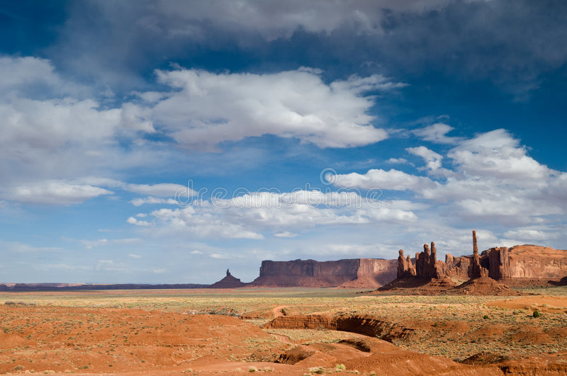 Download Monument Valley stock image. Image of desert, stone, panorama - 7575307