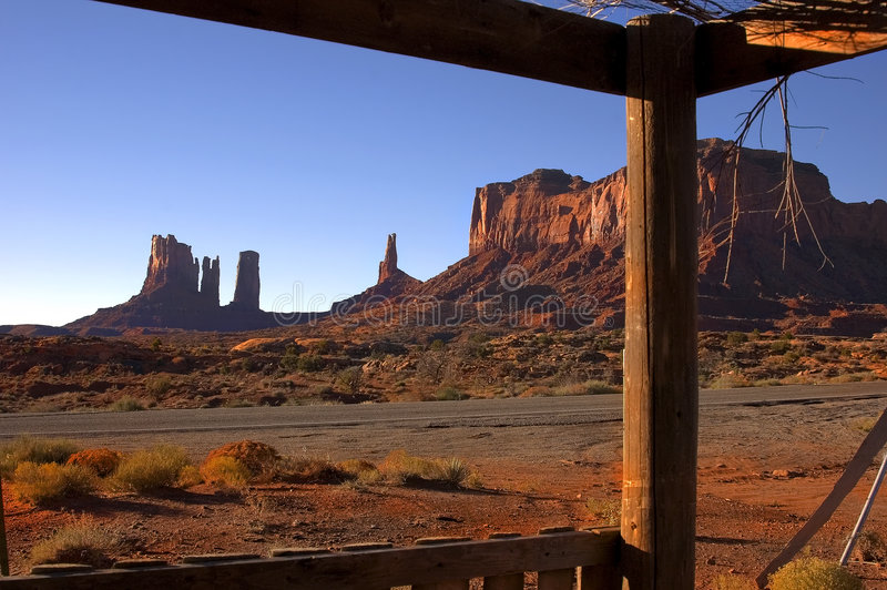 Download Monument Valley 8 stock photo. Image of vacation, tribal - 163048