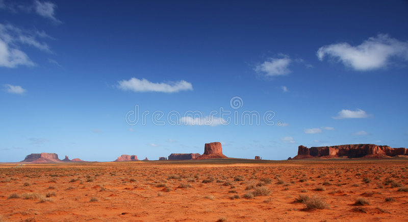 Monument Valley in America's Southwest royalty free stock photos