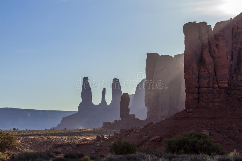 Monument Valley. Arches National Park,Utah,USA stock image