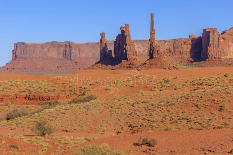 Monument Valley. Arches National Park,Utah,USA stock images