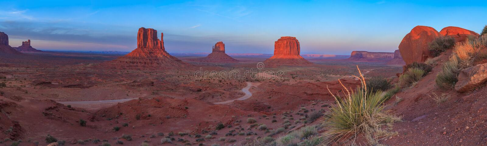 Monument Valley. Arches National Park,Utah,USA royalty free stock photos