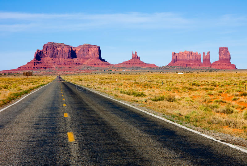 Monument Valley, Arizona stock photography