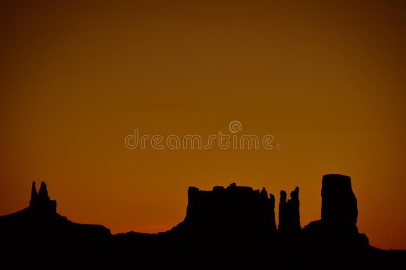 Monument Valley In Arizona, USA Stock Photo