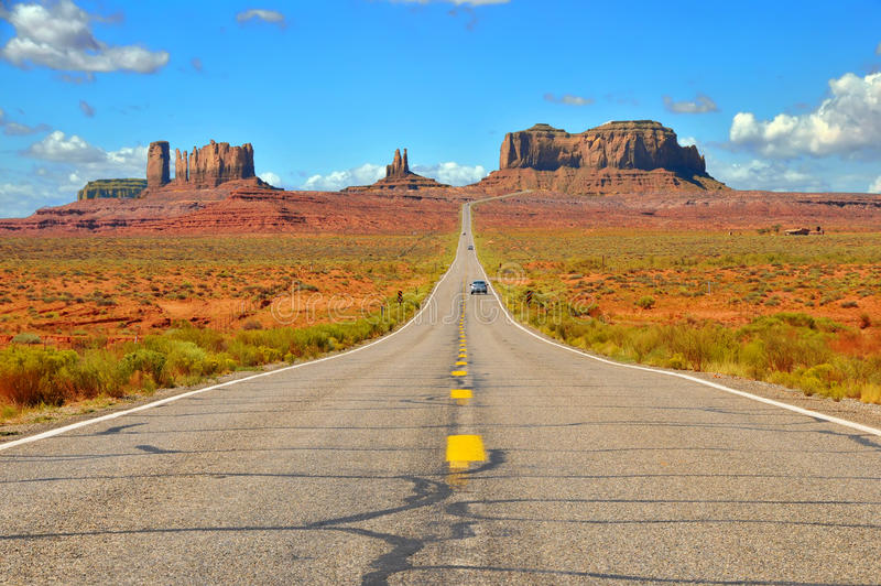 Monument Valley Highway Stock Image