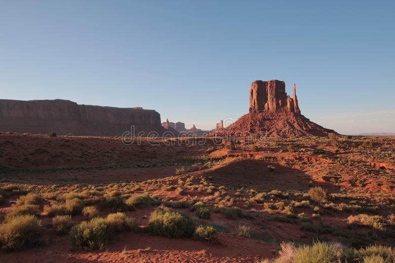 Monument Valley landscape royalty free stock photo