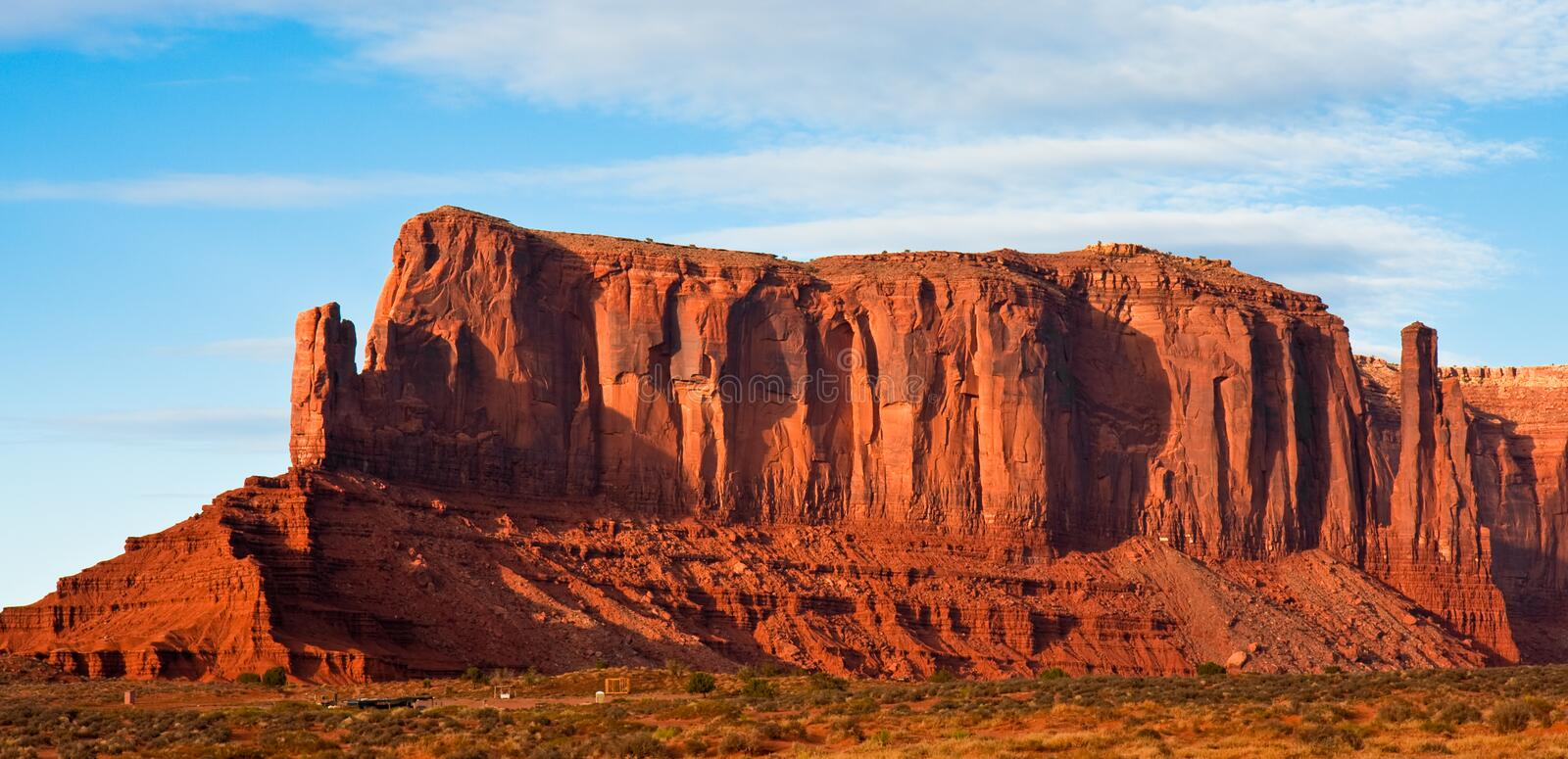 Download Monument Valley Mesa stock image. Image of beautiful - 12486139