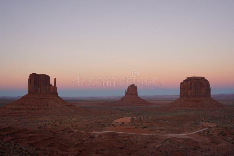 Monument Valley Navaho Tribal Park, Utah- USA royalty free stock photos