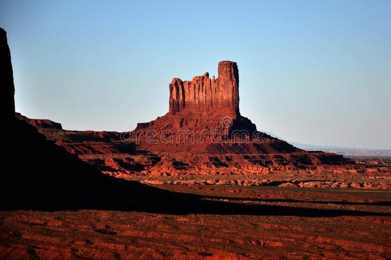 Monument Valley Navajo Indian Tribal Park Panorama royalty free stock image
