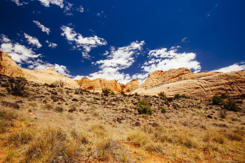 Monument Valley, Navajo Tribal Park, Arizona, USA. Indn Rte 42 in Monument Valley, Navajo Tribal Park, Arizona, USA stock images