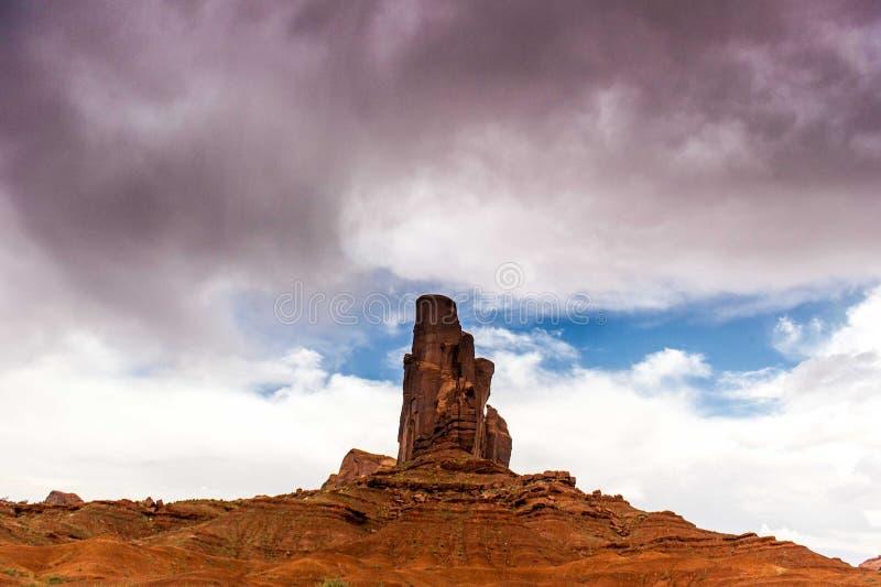 Monument Valley Navajo Tribal Park, Utah, USA stock photography